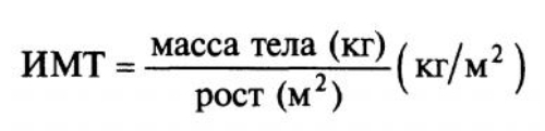 формула ИМТ