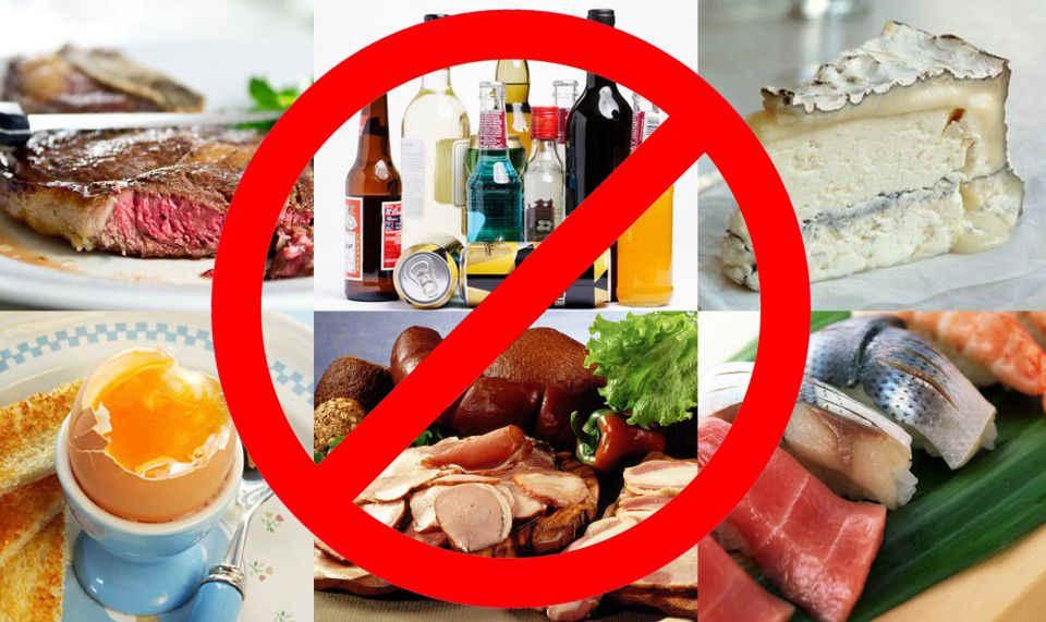 запрещенные продукты желчный пузырь