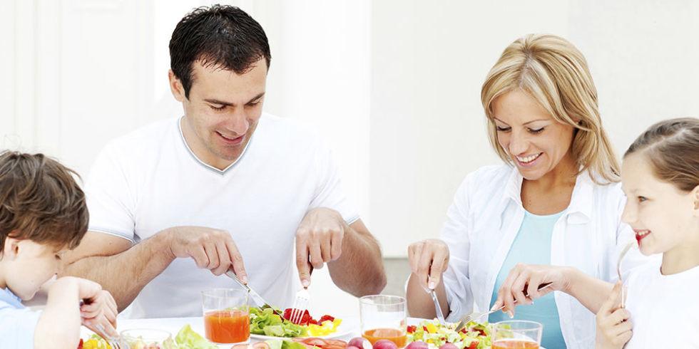 семья однодневная диета